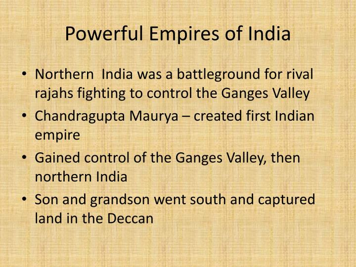 Powerful Empires of India