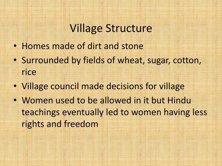 Village Structure