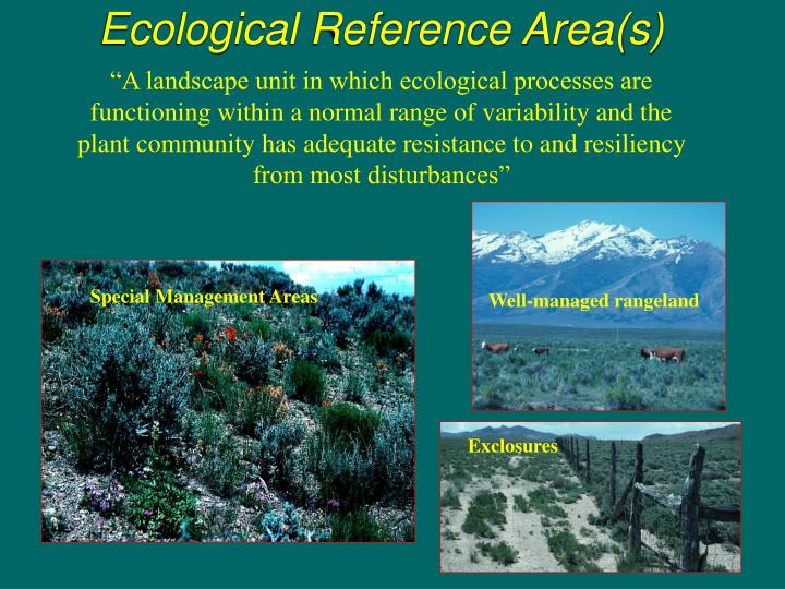 Ecological Reference Area(s)