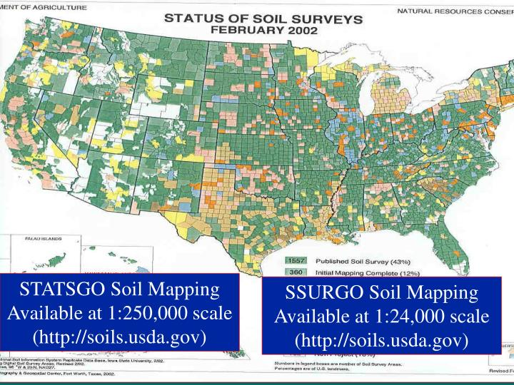 STATSGO Soil Mapping