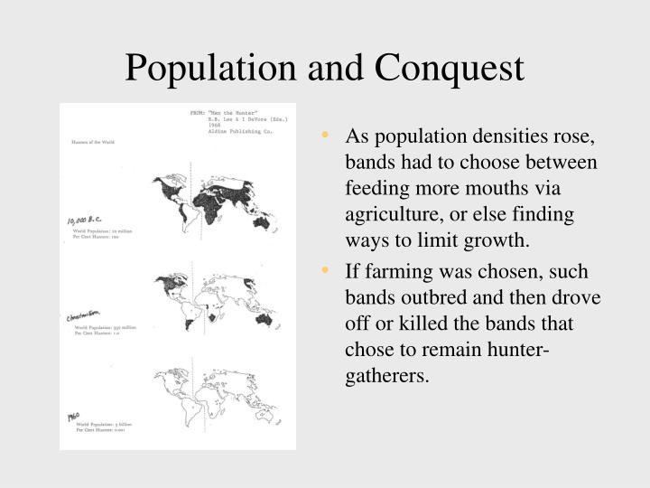 Population and Conquest