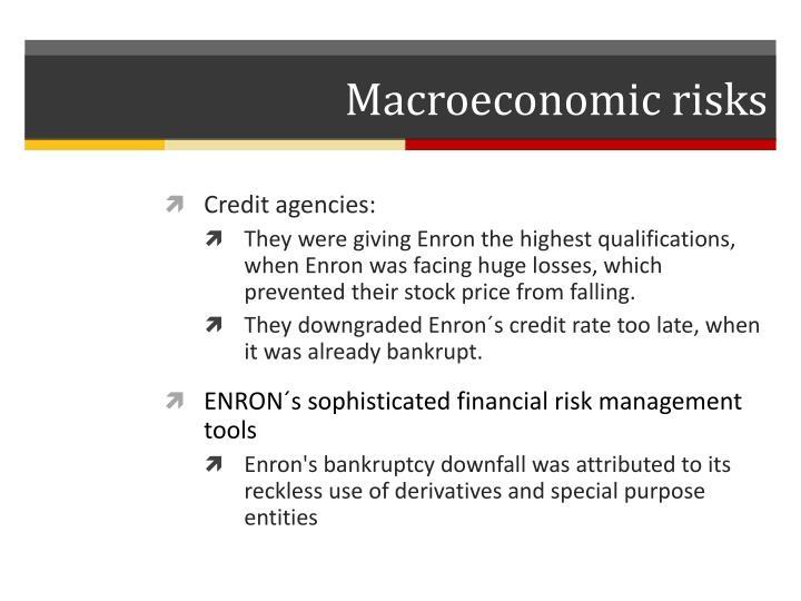 Macroeconomic risks