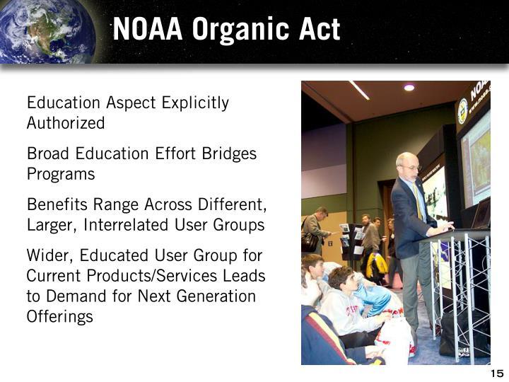 NOAA Organic Act