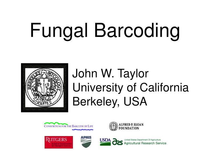 Fungal Barcoding