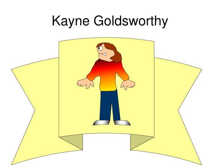 Kayne Goldsworthy