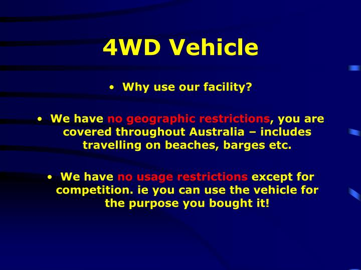 4WD Vehicle