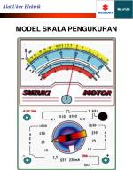 model skala pengukuran