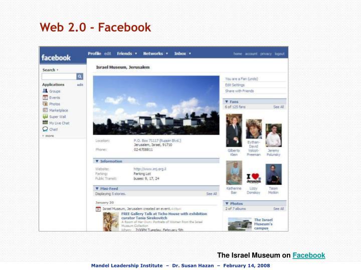 Web 2.0 - Facebook