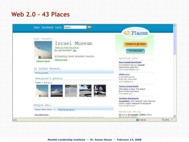 Web 2.0 – 43 Places