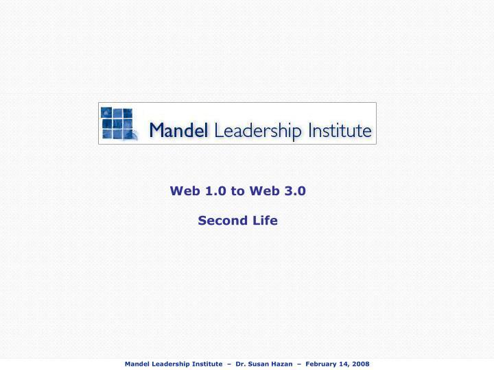 Web 1.0 to Web 3.0