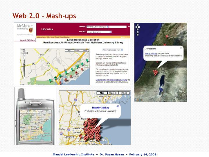 Web 2.0 – Mash-ups