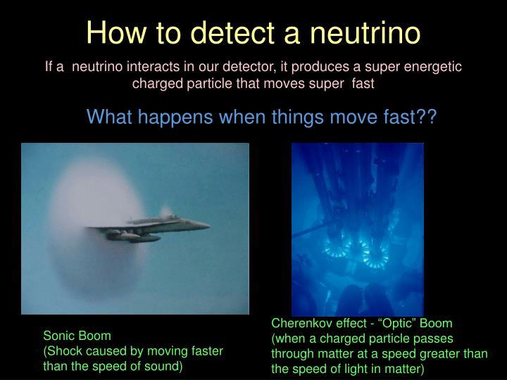 How to detect a neutrino