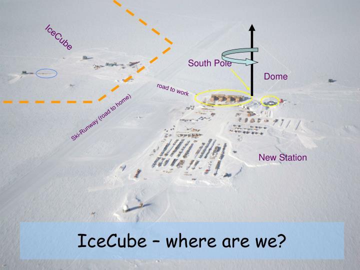 IceCube – where are we?