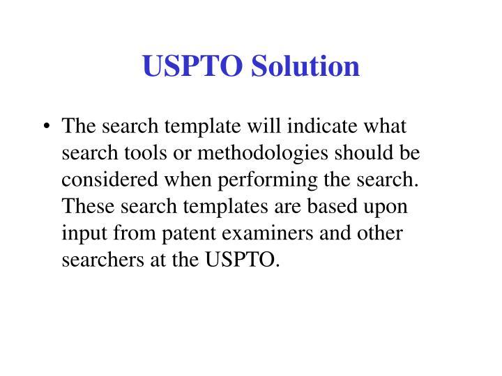 USPTO Solution
