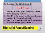 sifat sifat fungsi kuadrat1