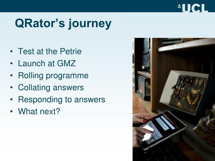 QRator's journey