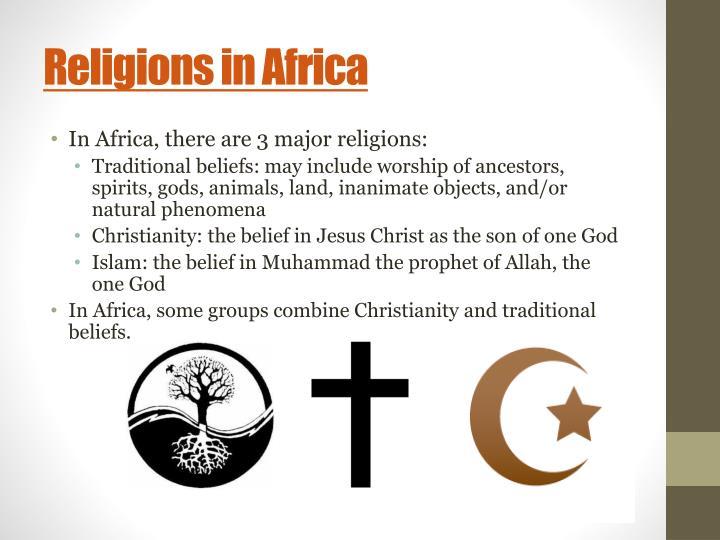Religions in Africa