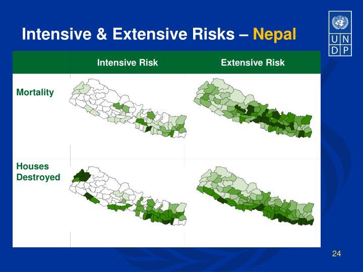 Intensive & Extensive Risks –