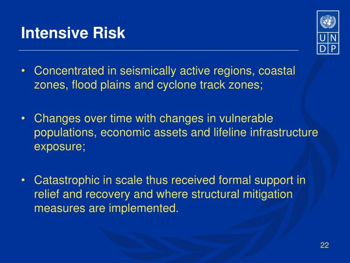 Intensive Risk