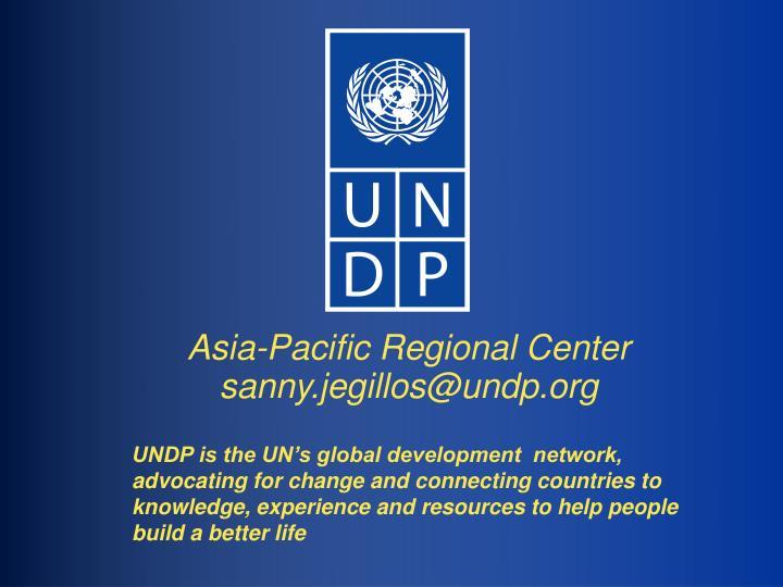 Asia-Pacific Regional Center