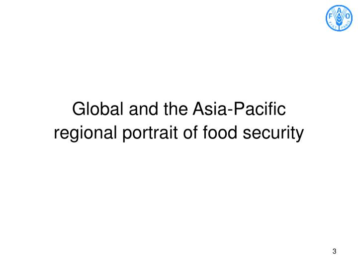 Global and the Asia-Pacific