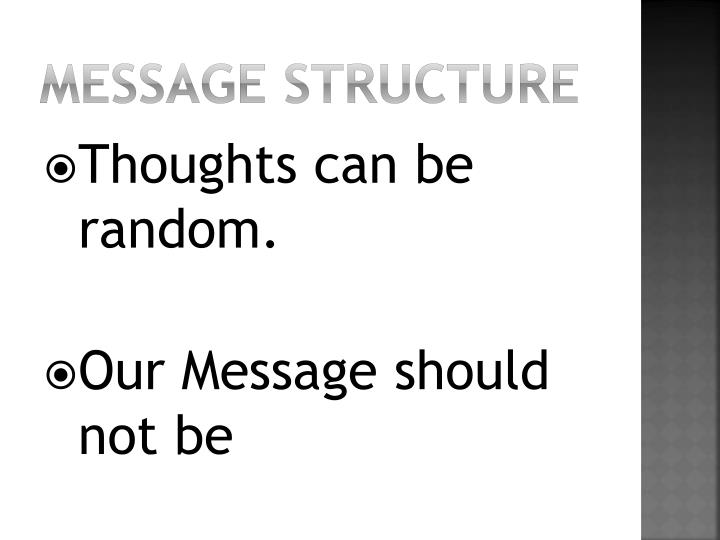 Message Structure