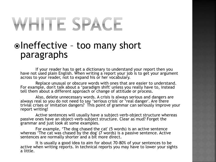 White Space