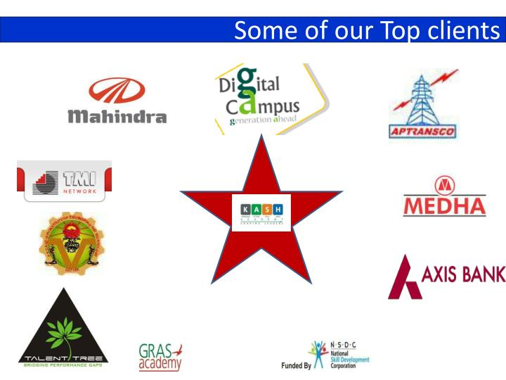 Some of our Top clients