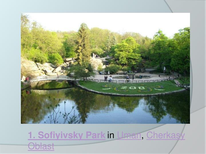 1. Sofiyivsky Park