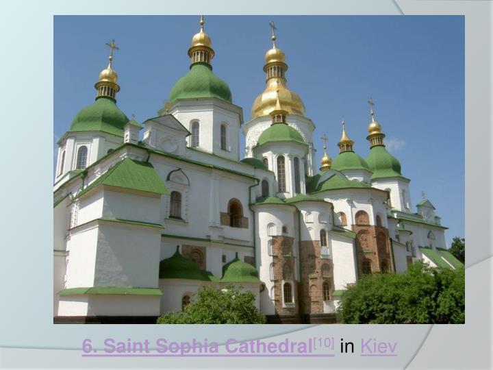 6. Saint Sophia Cathedral