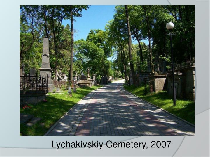 Lychakivskiy Cemetery, 2007