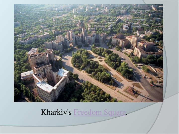 Kharkiv's