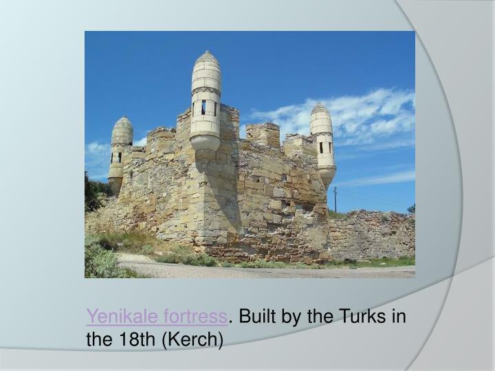 Yenikale fortress