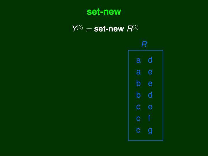 set-new