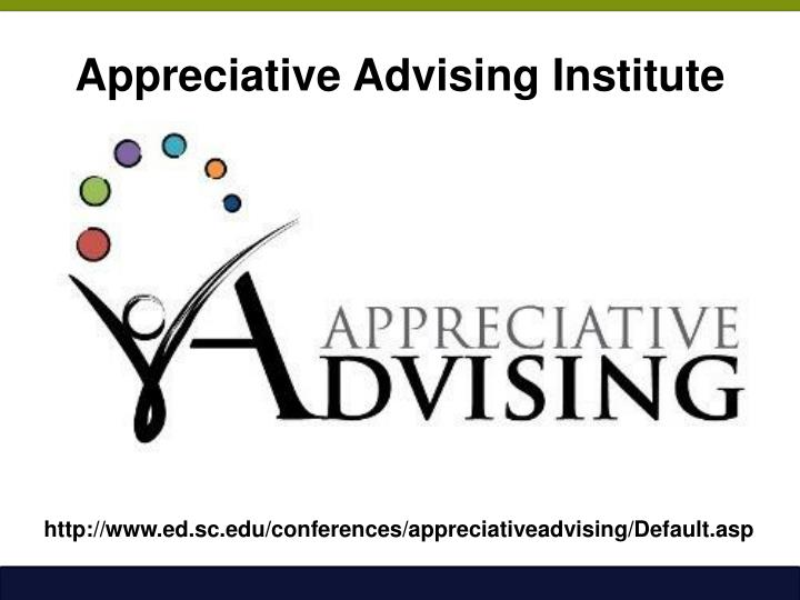 Appreciative Advising Institute