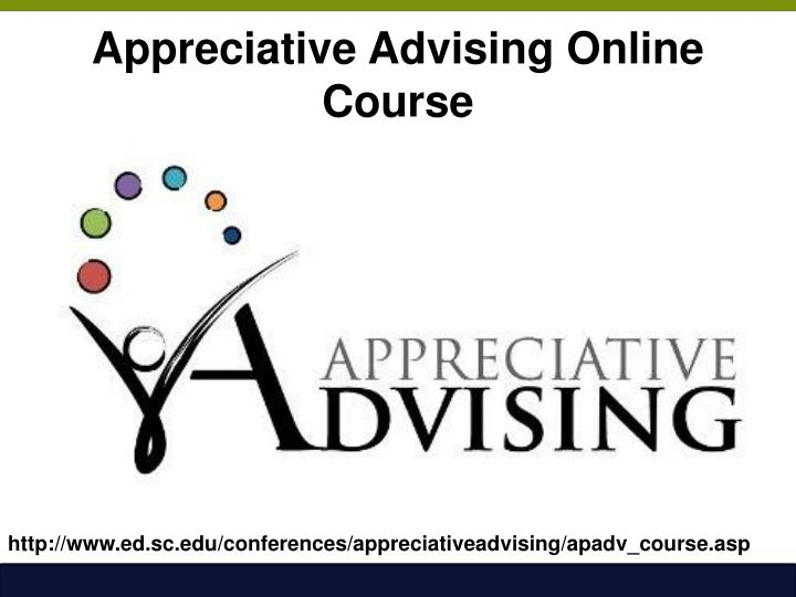 Appreciative Advising Online Course