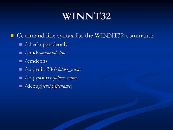 WINNT32