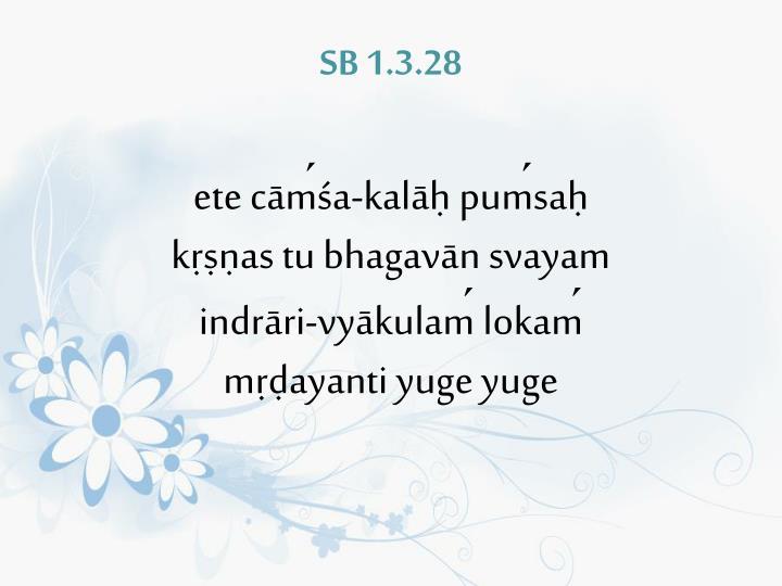 SB 1.3.28