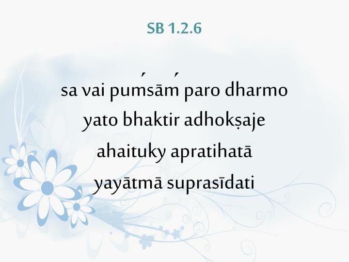 SB 1.2.6