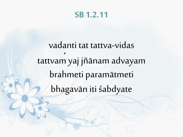 SB 1.2.11