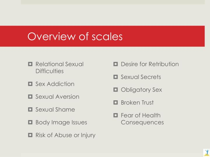 Overview of scales