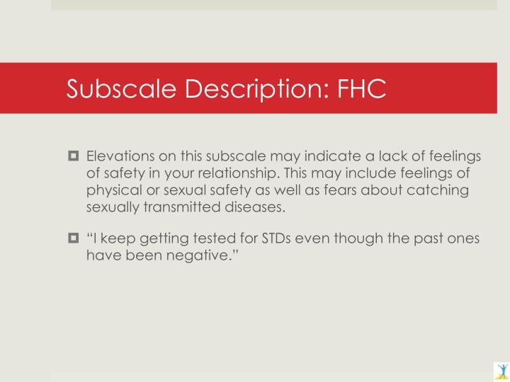 Subscale Description: FHC