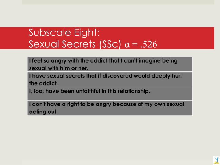Subscale Eight: