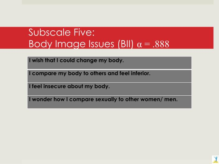 Subscale Five: