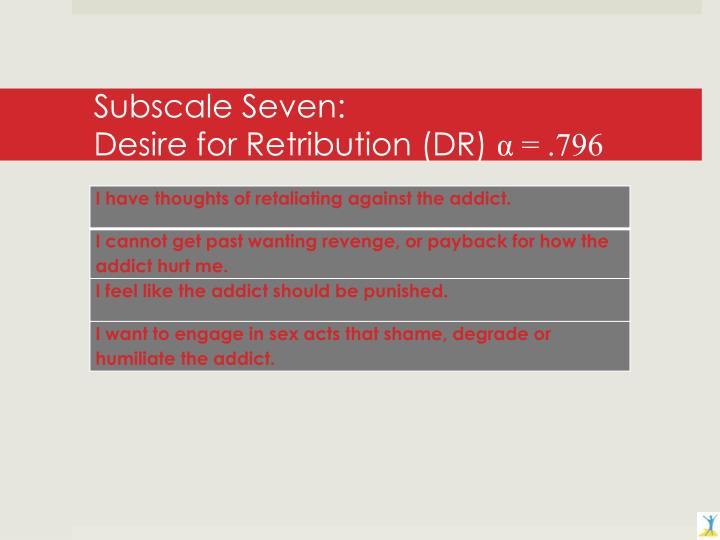Subscale Seven: