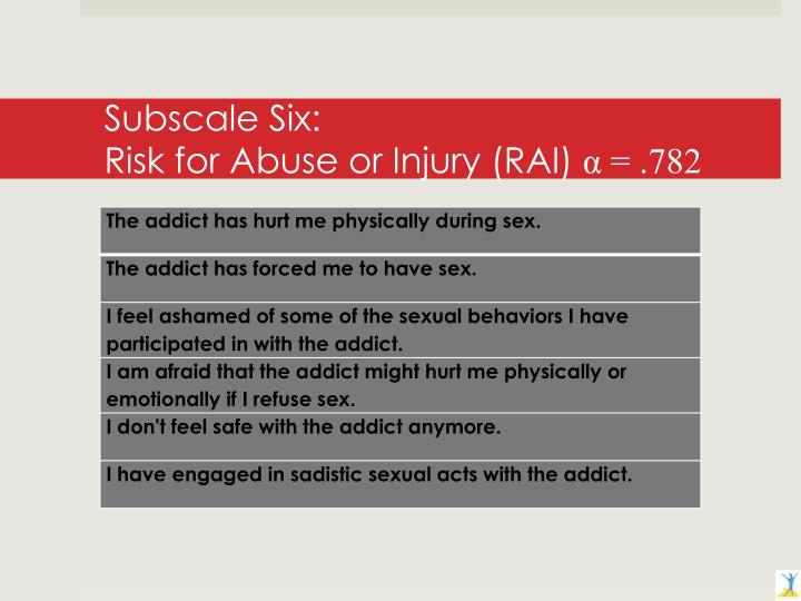Subscale Six:
