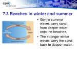 7 3 beaches in winter and summer