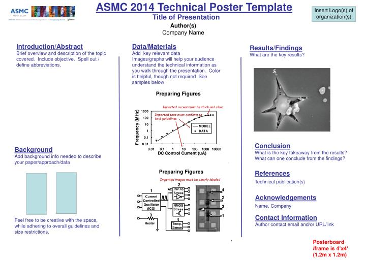 PPT - ASMC 2... Technical Poster Template
