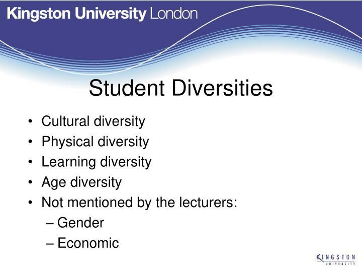 Student Diversities