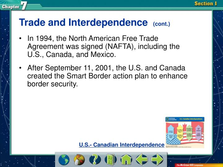 Trade and Interdependence
